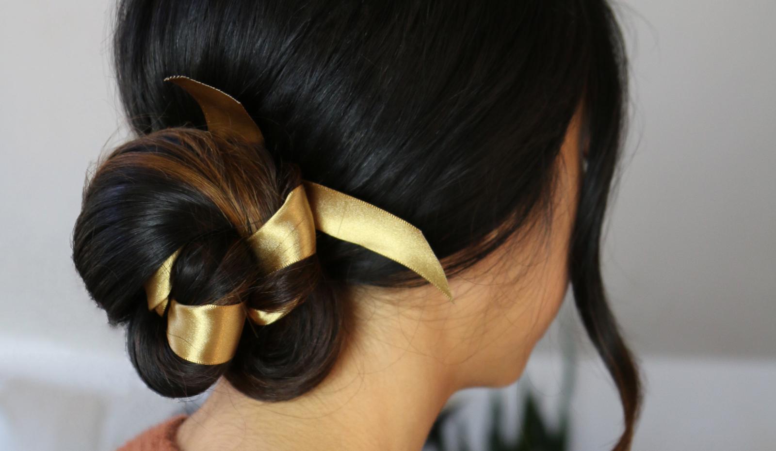 HOW TO: Ribbon Adorned Ballet Bun