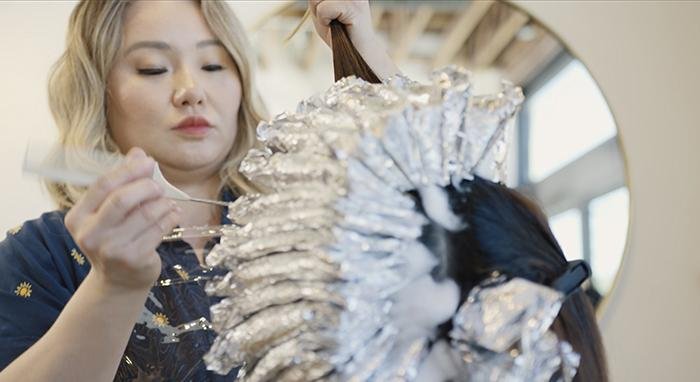 Liz Jung is Transforming Clients' Hair One Color Process at a Time