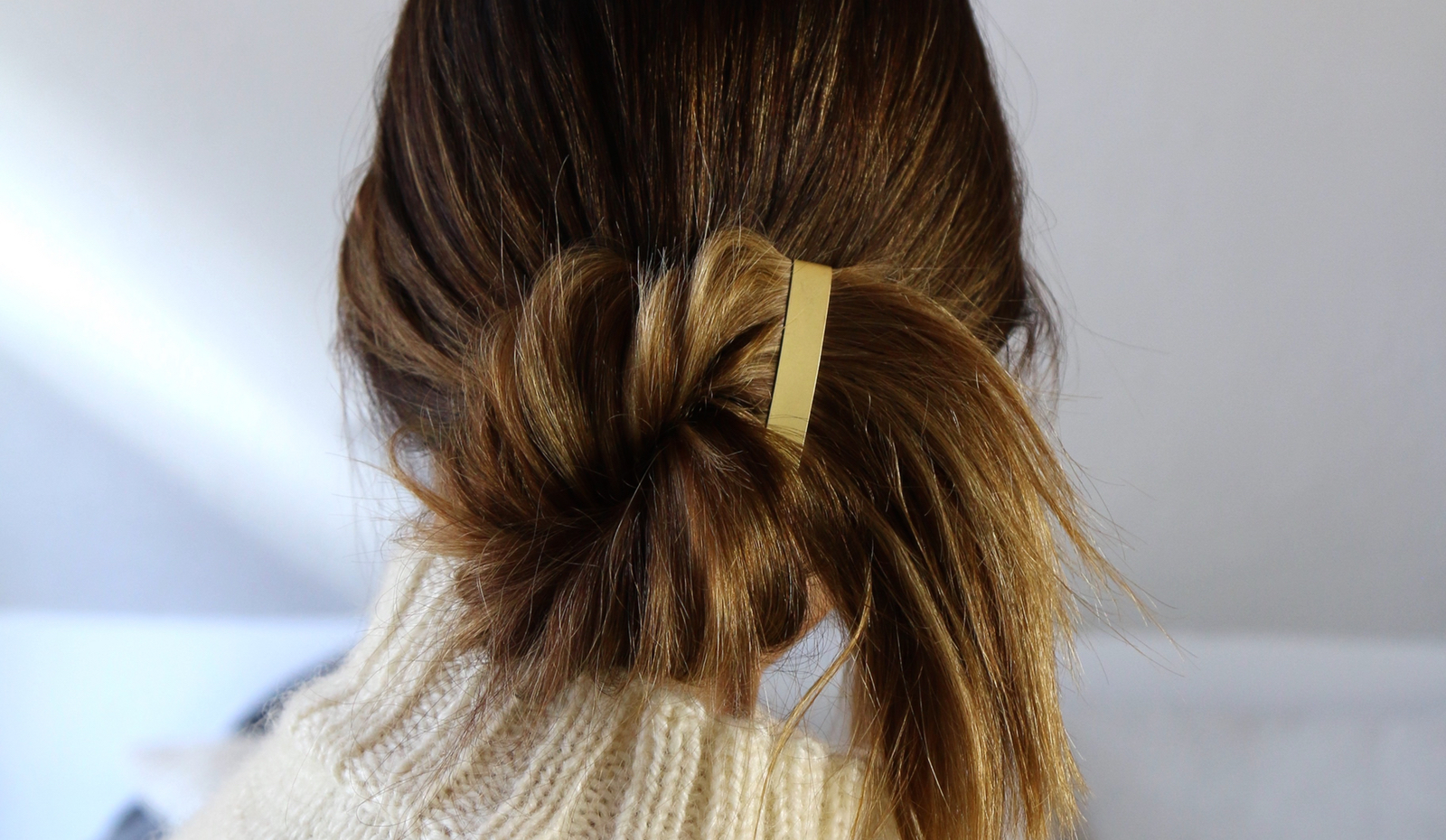 HOW TO: Chic Holiday Chignon