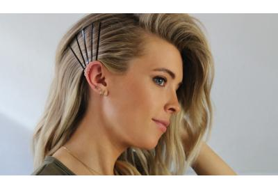 HOW TO: Hair Pin Accent