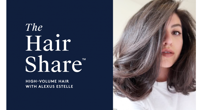 The Hair Share®: High-Volume Hair with Alexus Estelle
