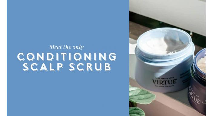 Meet the Only Conditioning Scalp Scrub