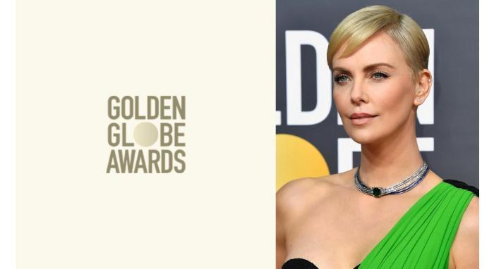 2020 Golden Globes: Charlize Theron's Sleek Pixie Cut