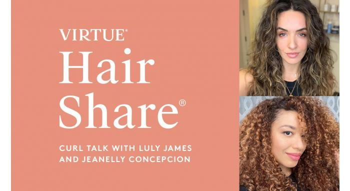 The Virtue Hair Share®: Curl Talk with Luly James and Jeanelly Concepcion