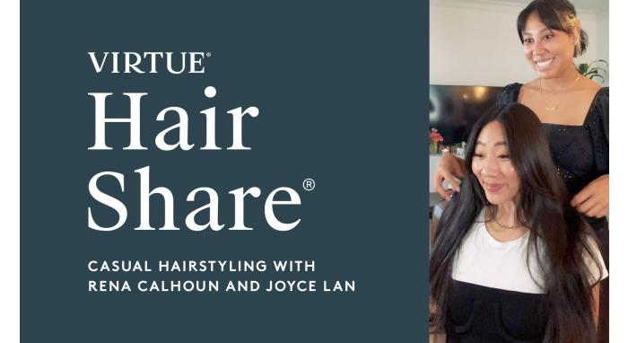 The Virtue Hair Share®: Casual Hairstyling With Rena Calhoun And Joyce Lan
