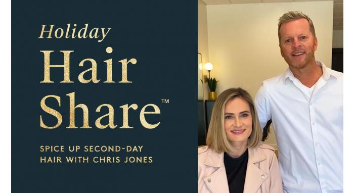 The Hair Share®: Spice Up Second-Day Hair with Chris Jones