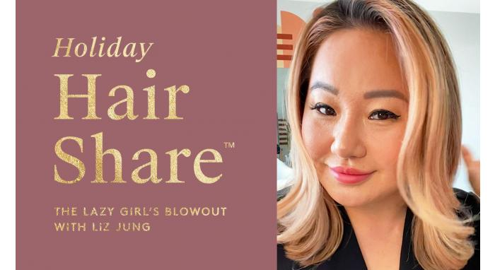 The Hair Share®: The Lazy Girl's Blowout with Liz Jung