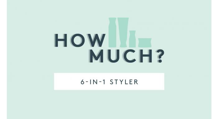 How Much Product Do You Use: 6-in-1 Styler