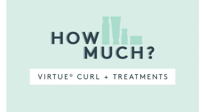 How Much Product Do You Use: Virtue Curl & Treatments