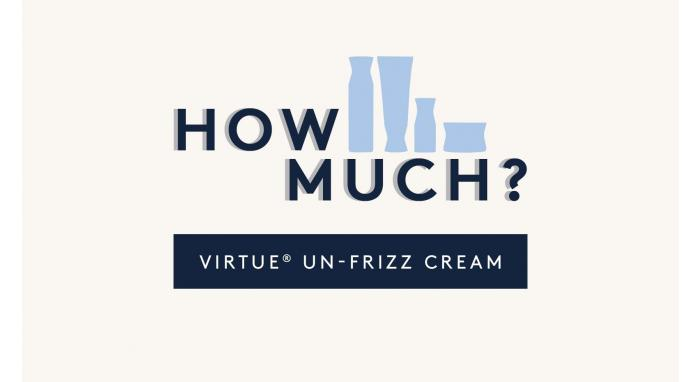 How Much Product Do You Use: Un-Frizz Cream