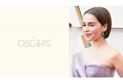 2019 Academy Awards: Rich Glossy Brunette