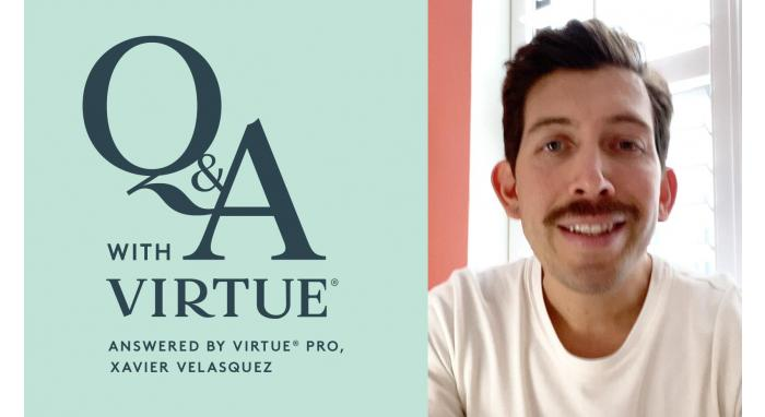 Q&A with Virtue: Answered by Virtue® Pro, Xavier Velasquez