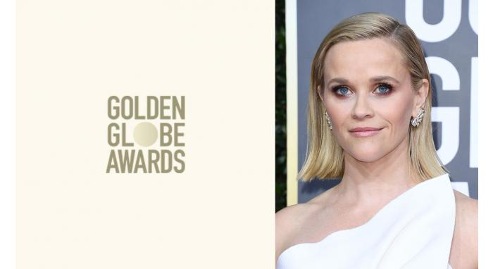 2020 Golden Globes: Reese Witherspoon's Sleek Modern Bob
