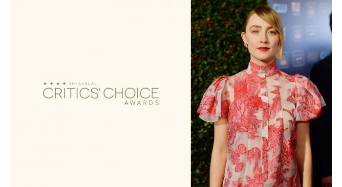 2020 Critic's Choice Awards: Saoirse Ronan's Romantic Low Ponytail