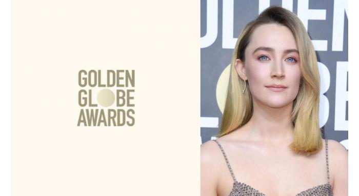 2020 Golden Globes: Saoirse Ronan's Retro Glam Blowout