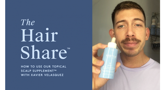 The Hair Share™: How to Use Our Topical Scalp Supplement™ with Xavier Velasquez