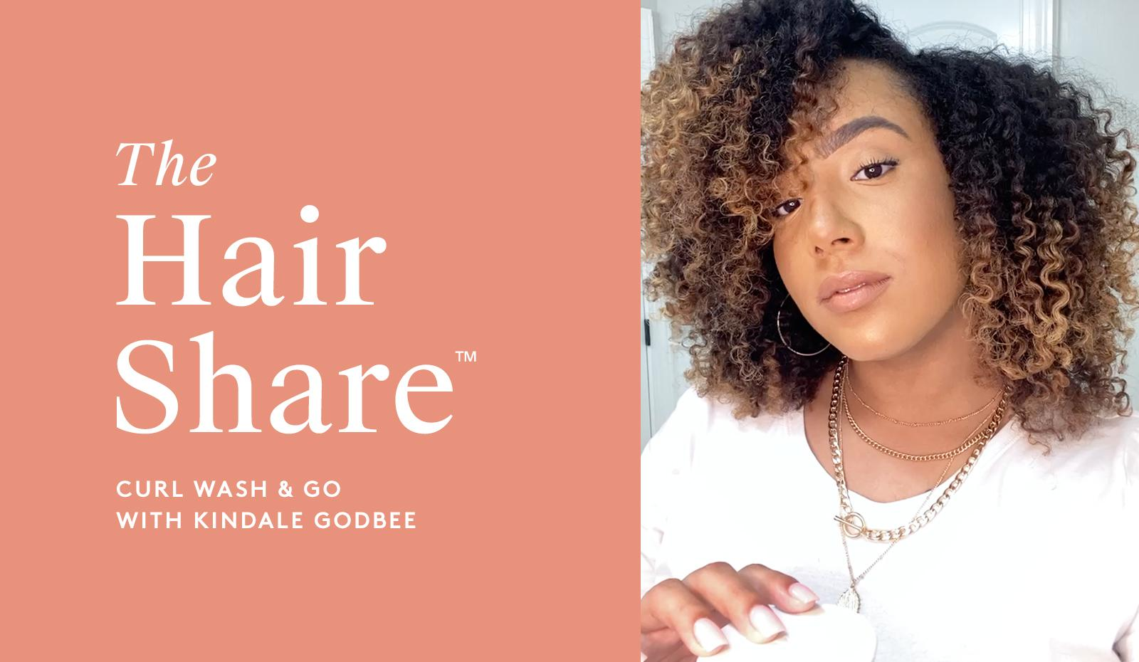 The Virtue Hair Share®: Curl Wash & Go with Kindale Godbee