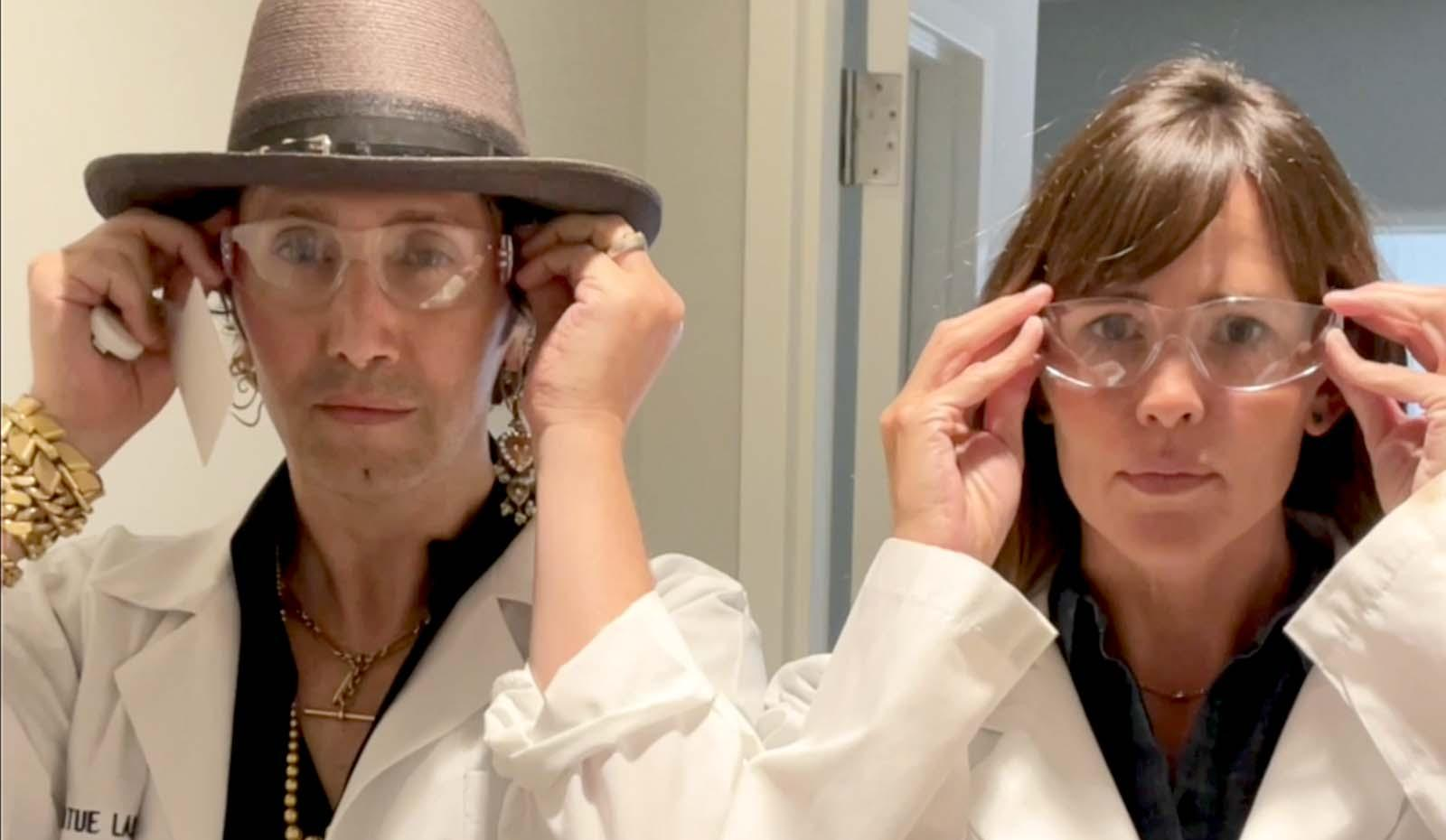 Jennifer Garner & Adir Abergel Go Behind the Scenes on Virtue's Science