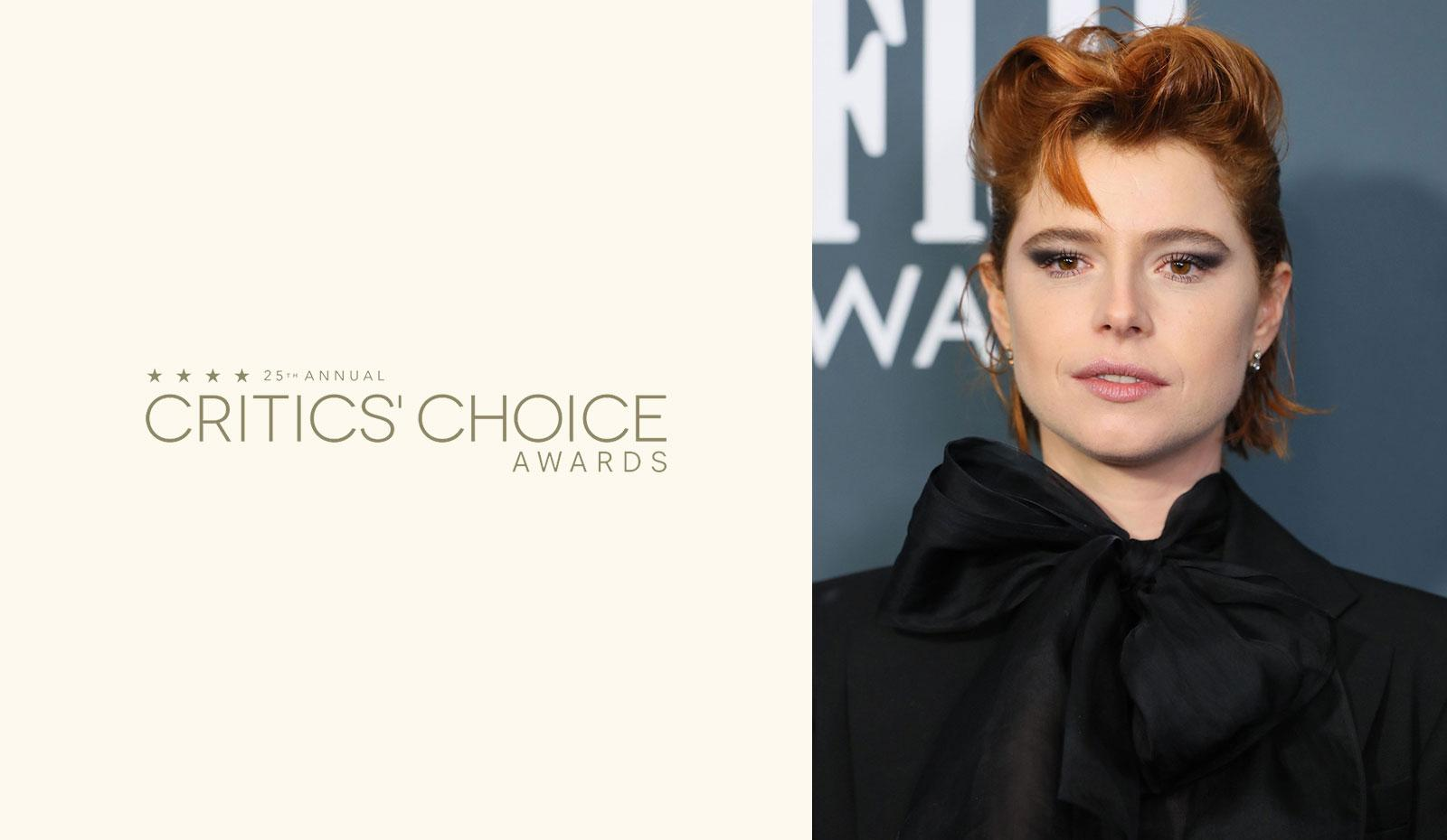 2020 Critic's Choice Awards: Jessie Buckley's Effortless Faux Mullet