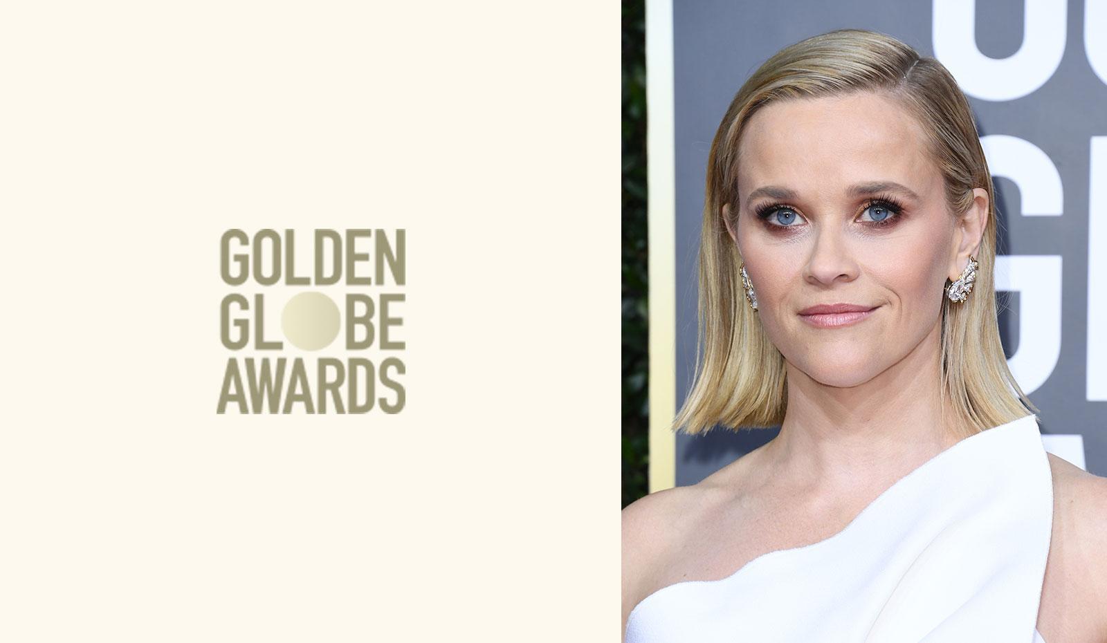 2020 Golden Globes: Reese Witherspoon's Sleek Modern Bob