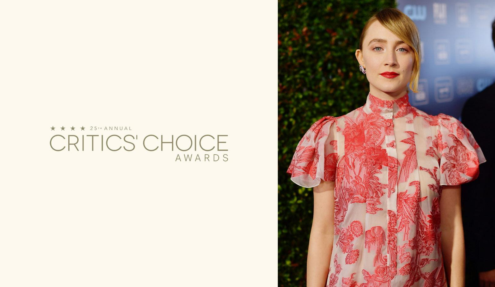 2020 Critic's Choice Awards: Saoirse Ronan's Romantic Low Ponytail