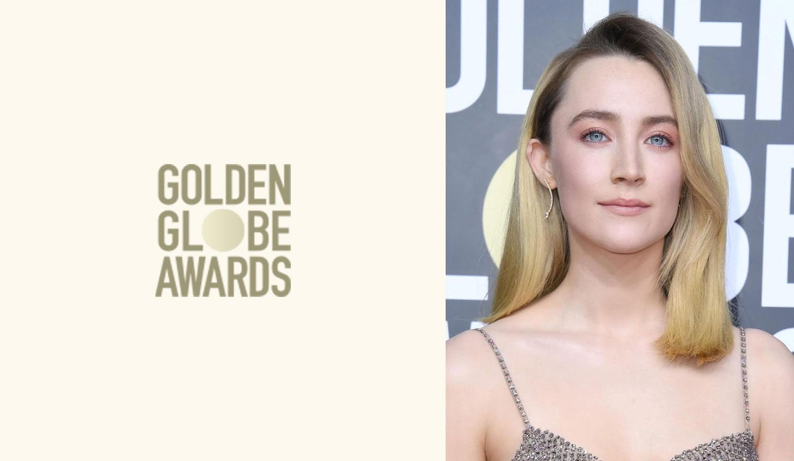 2020 Golden Globes: Saoirse Ronan's Retro Glam Blowout