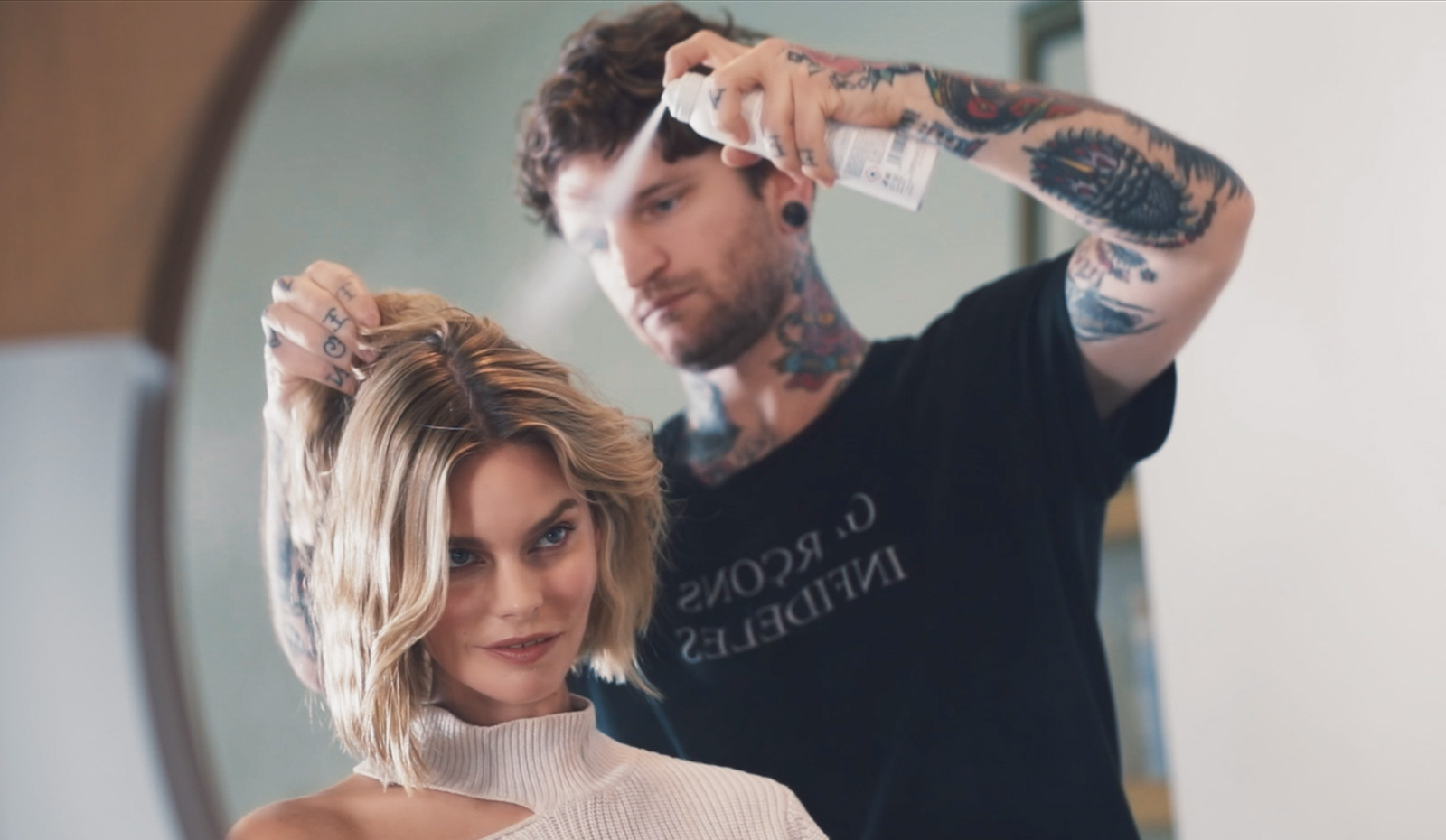 Add Quick Lift, Texture and Style With One Virtue Hair Product