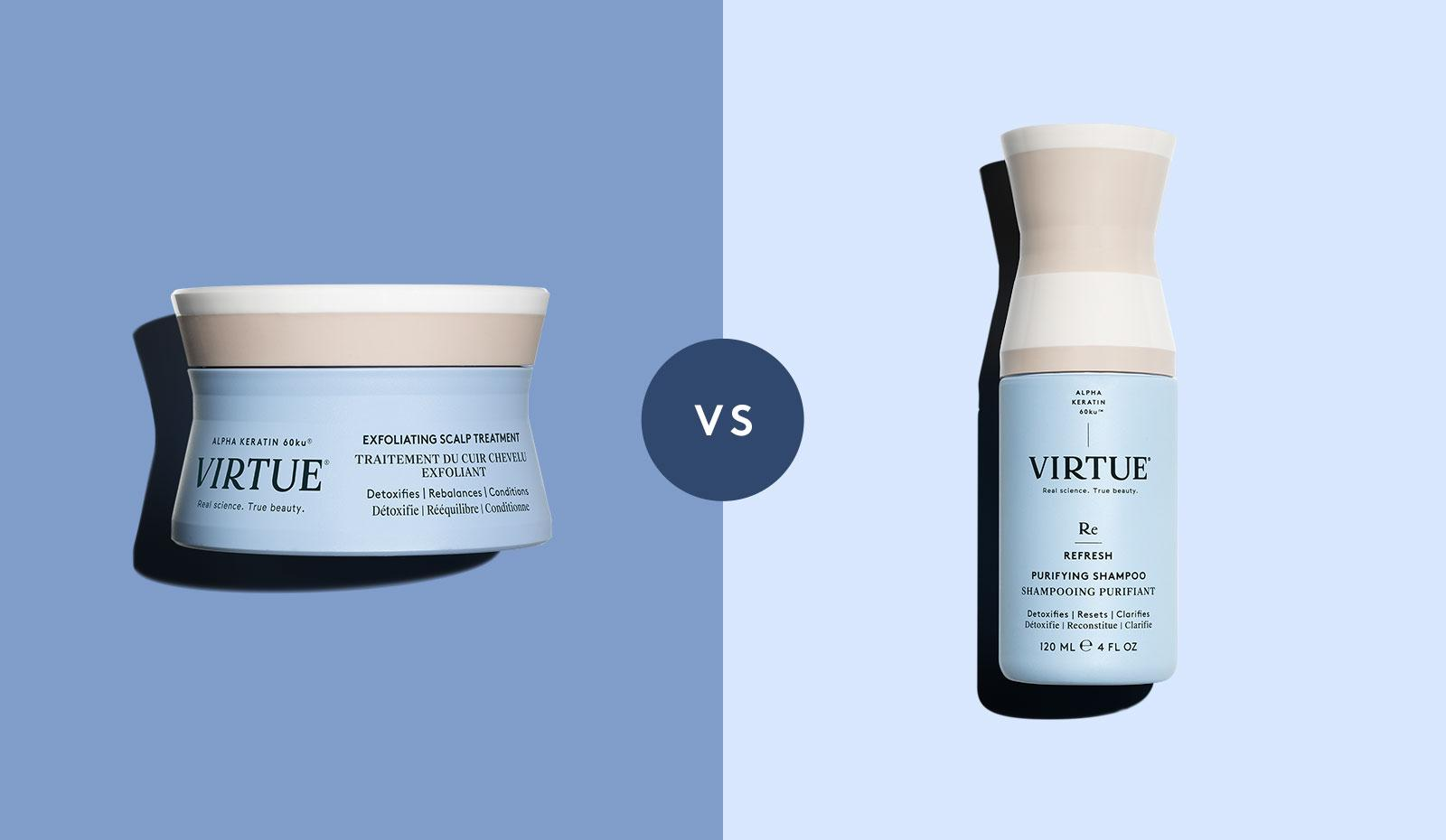 What's the Difference: Exfoliating Scalp Treatment vs. Purifying Shampoo