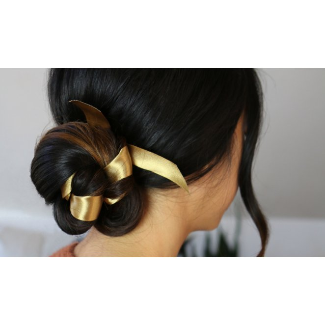 HOW TO: Ribbon Adorned Ballet Bun