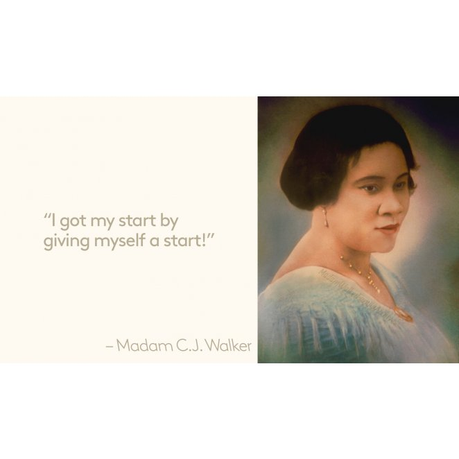 Virtuous Woman: Madam C. J. Walker
