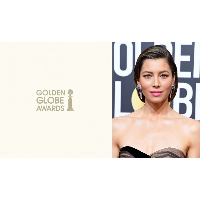 2018 Golden Globes: Modern Low Slung Ponytail