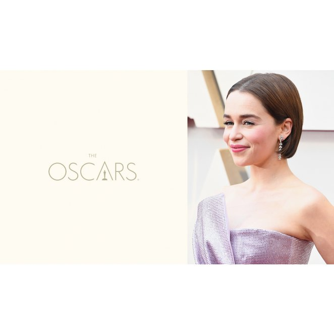 2019 Academy Awards: Rich Glossy Brunette