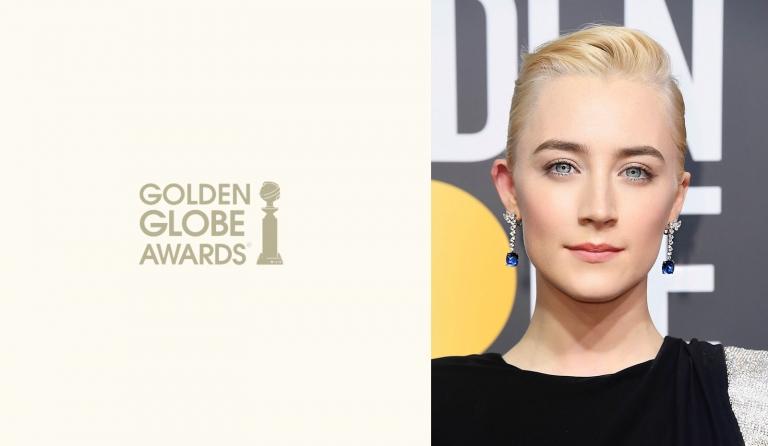 2018 Golden Globes: Silver Spun Updo