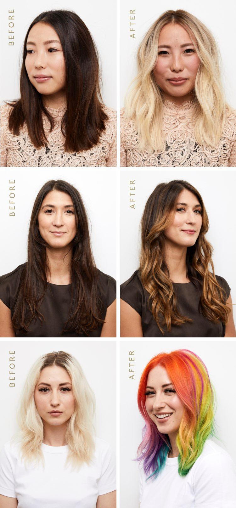 Hair Transformations with ColorKick™