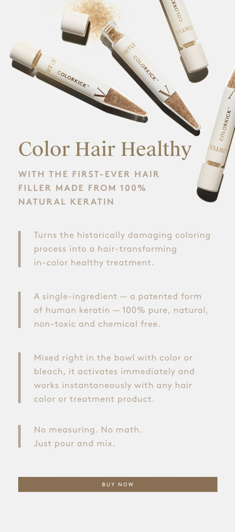 Color Hair Healthy with ColorKick™