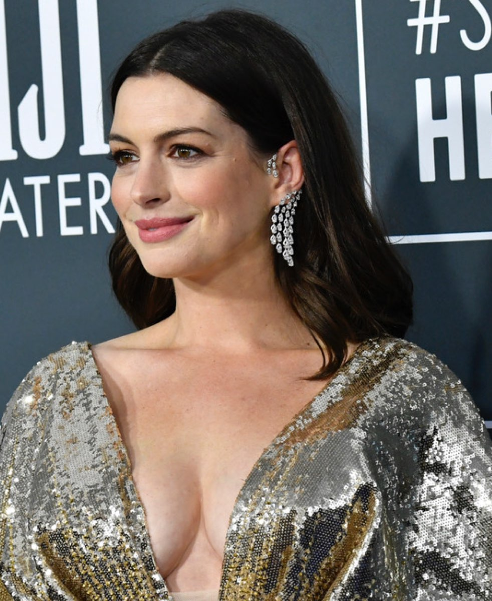 ANNE HATHAWAY at The Intern Premiere in New York 09/21