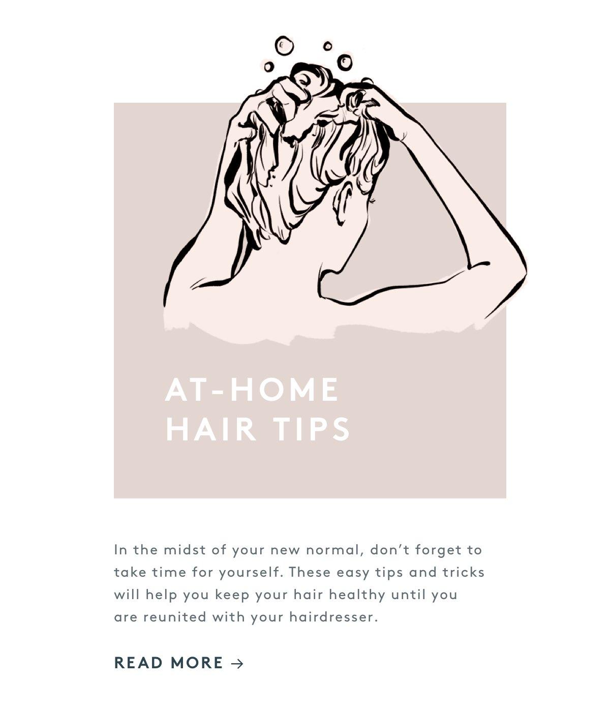 At-Home Hair Tips