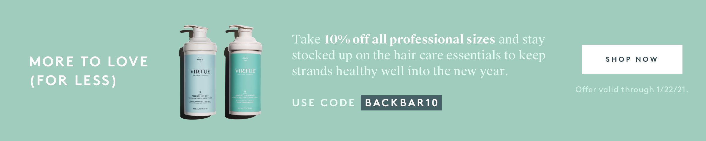 Take 10% Off All Professional Sizes