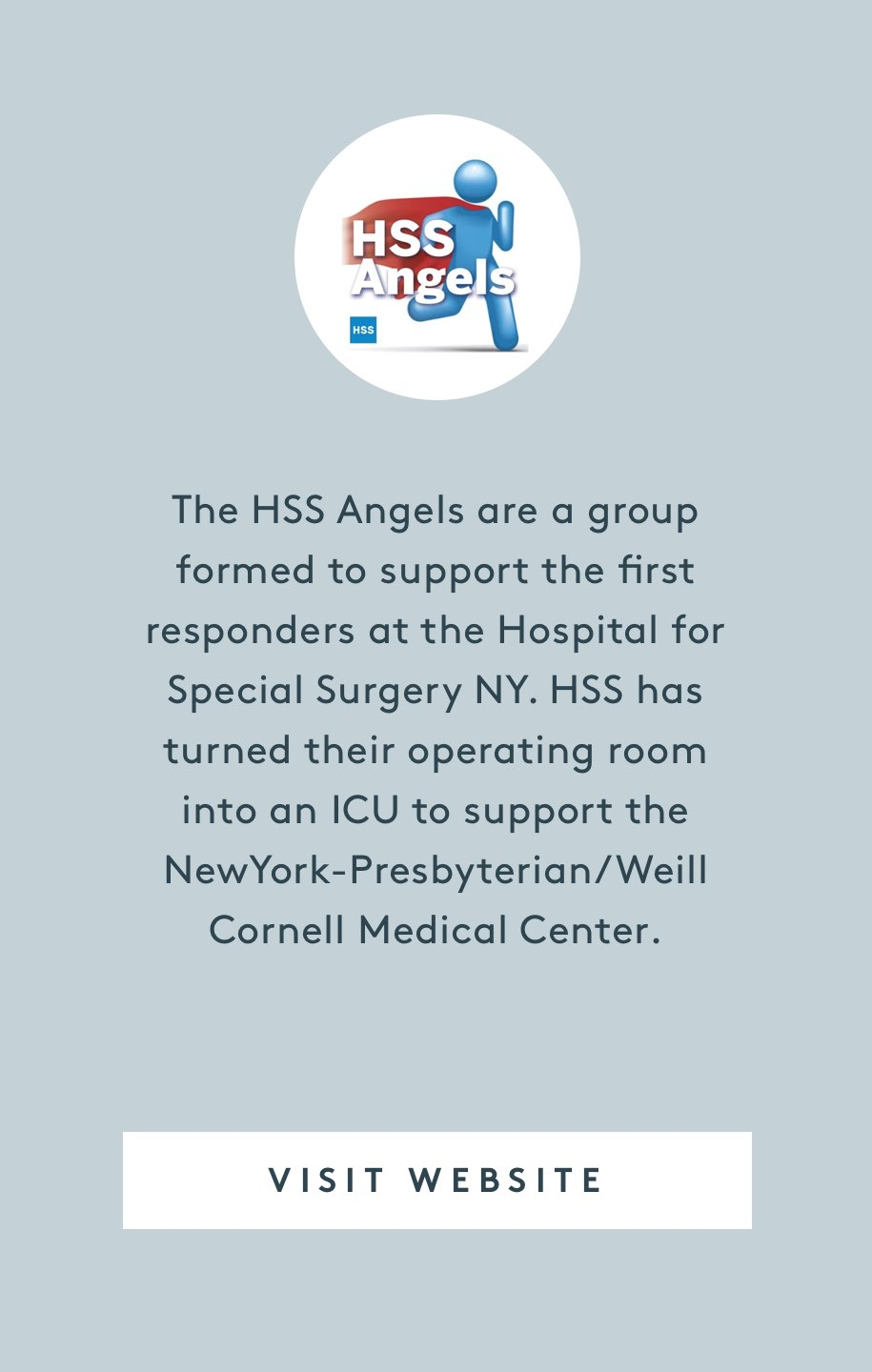 Hospital for Special Surgery - HSS Angels