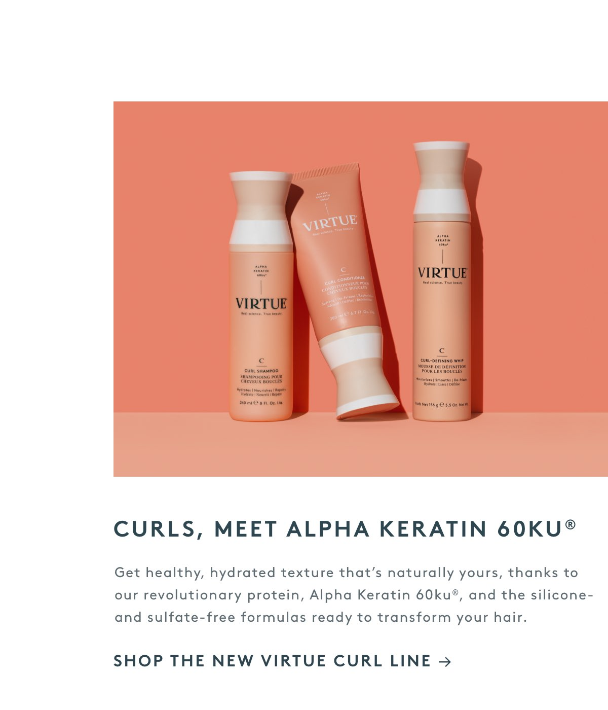 Curls, Meet Alpha Keratin 60ku®