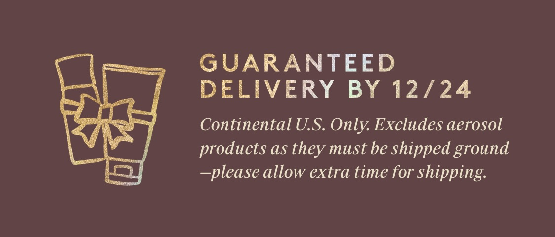 Guaranteed Delivery By 12/24