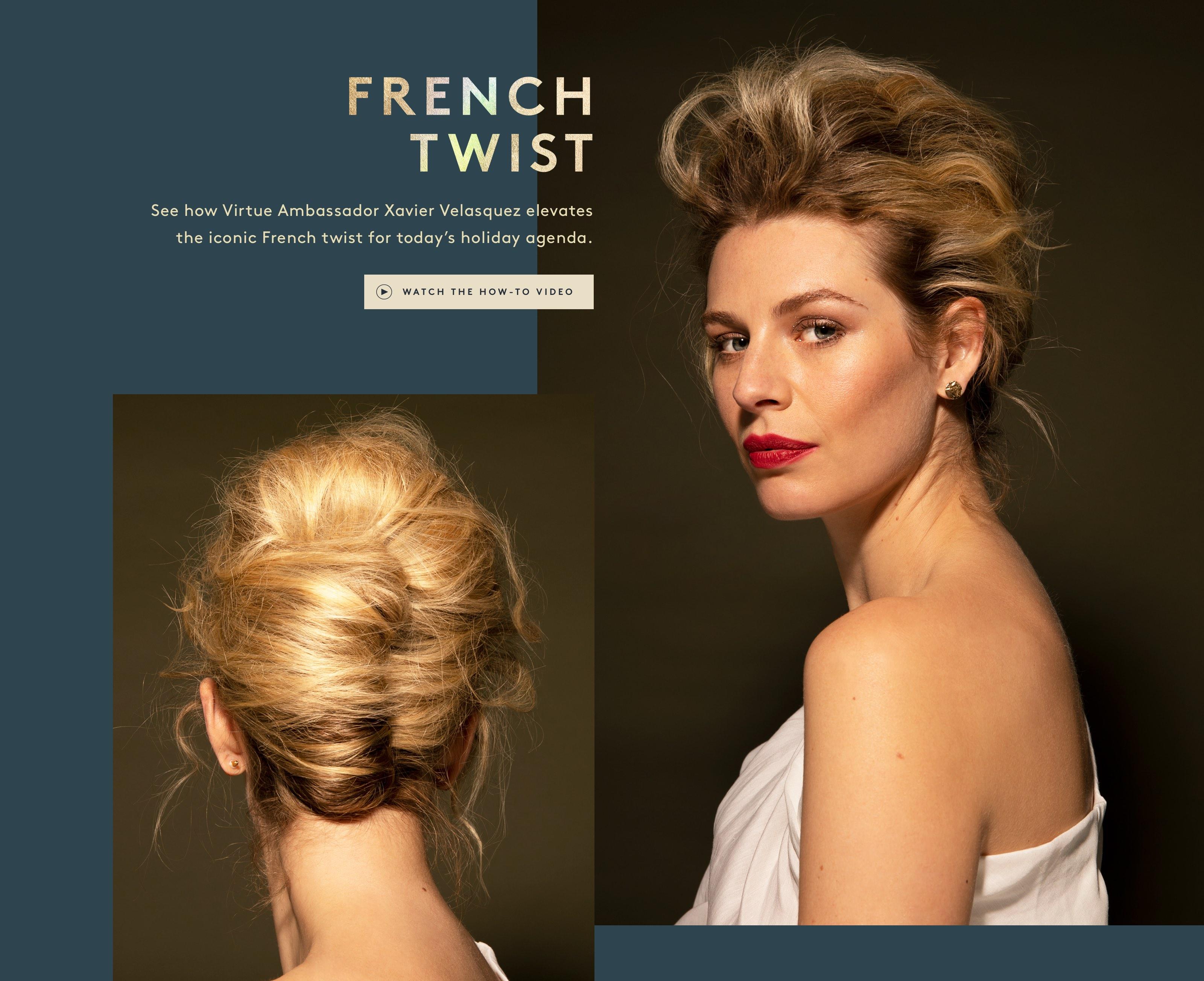 Modern French Twist