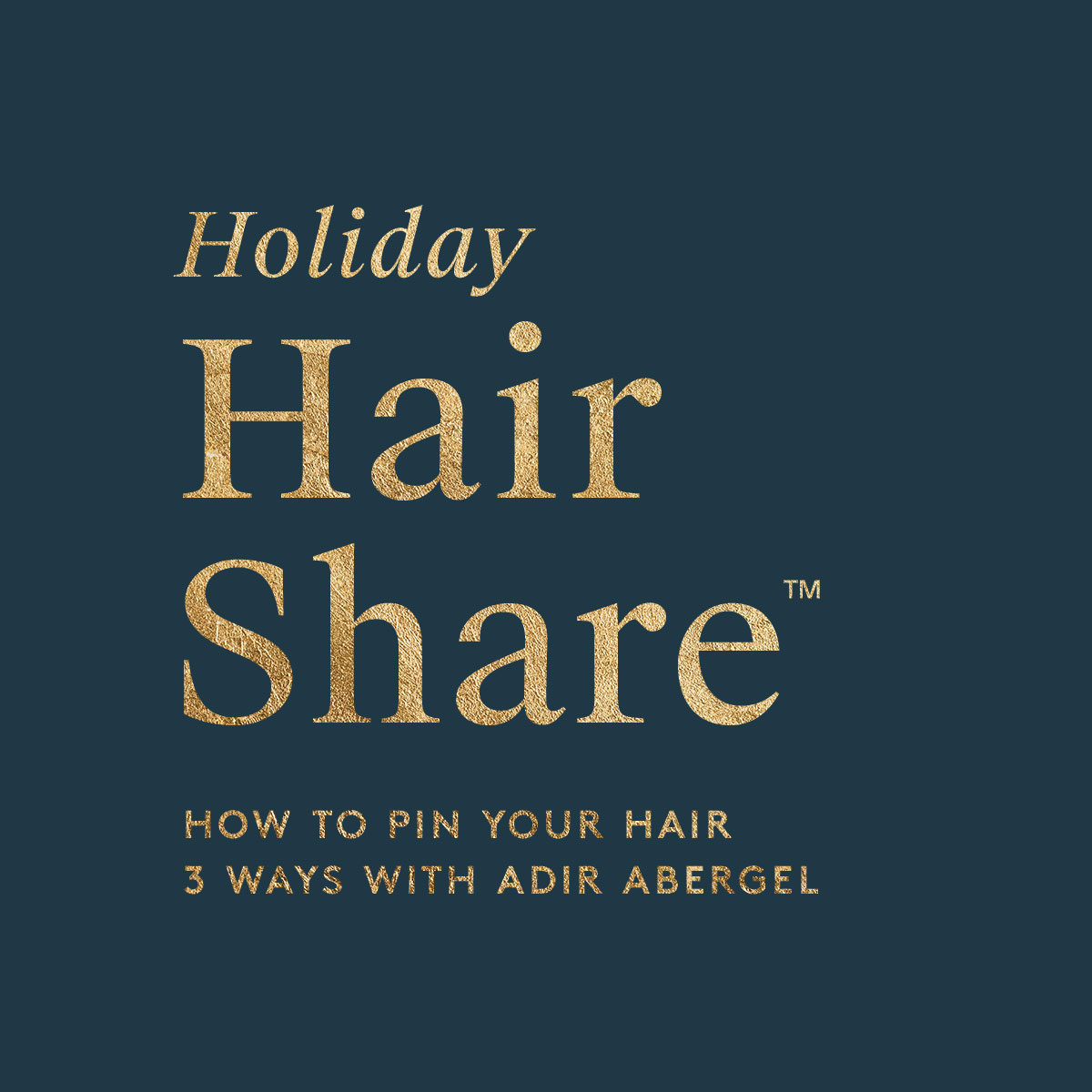 The Holiday Hair Share™
