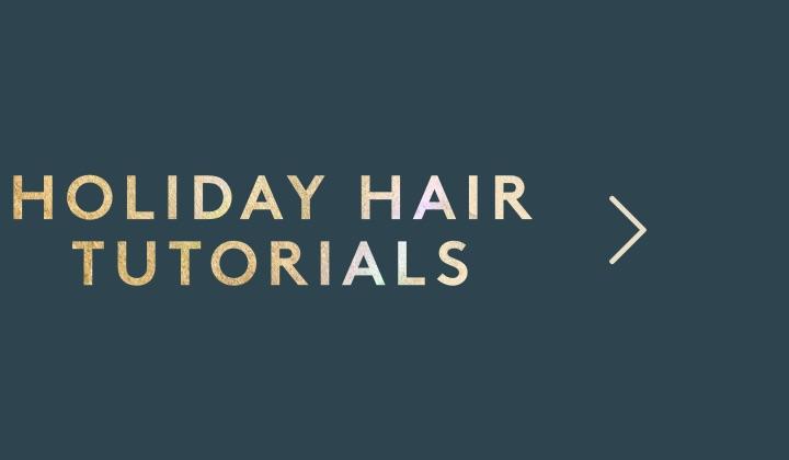Holiday Hair Primer