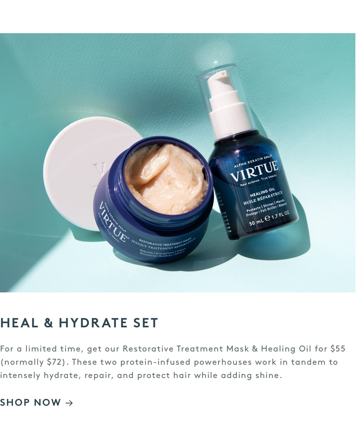 Heal & Hydrate Set