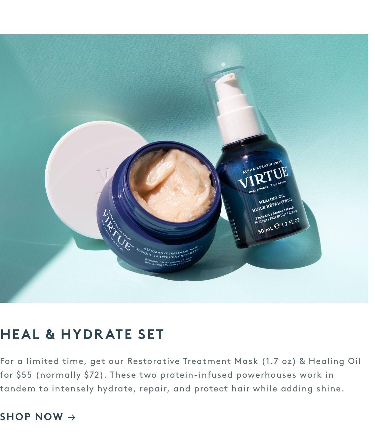 Heal & Hydrate Set
