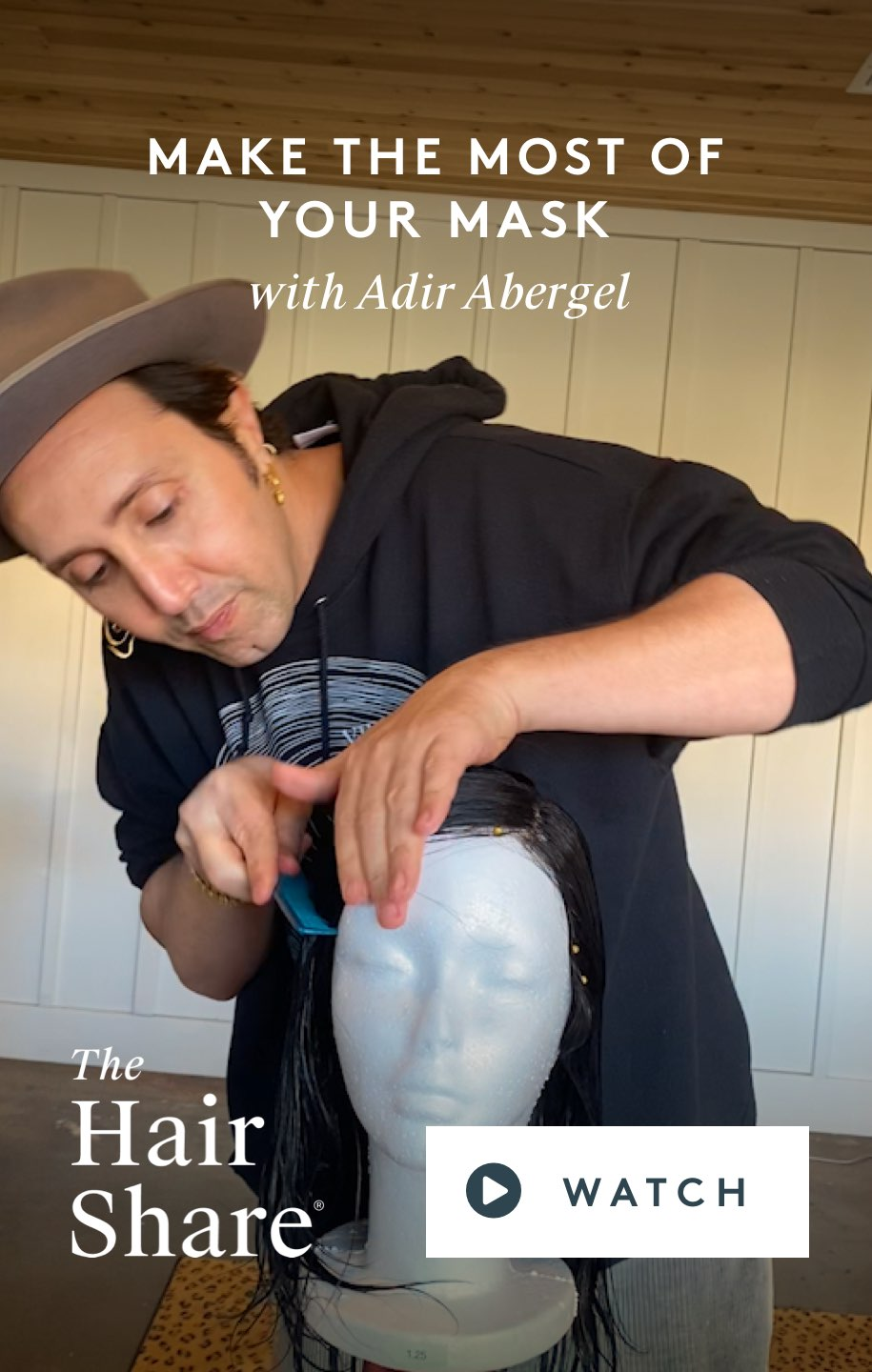 Make the Most of Your Mask with Adir Abergel