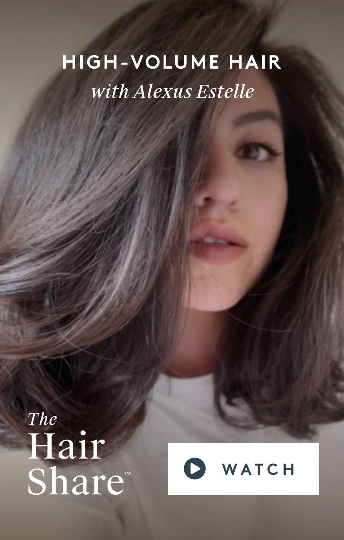 High-Volume Hair with Alexus Estelle