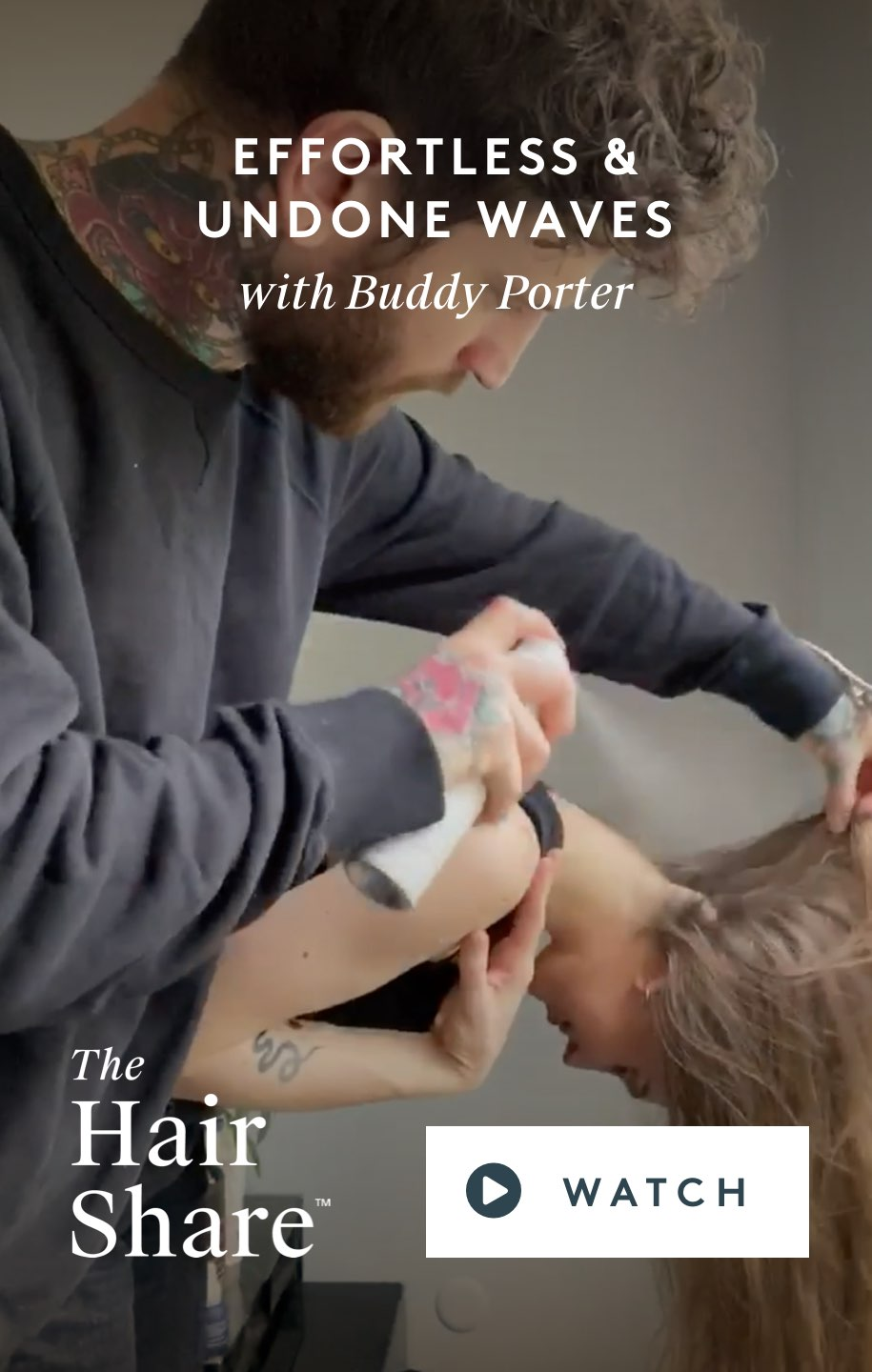 Effortless & Undone Waves with Buddy Porter
