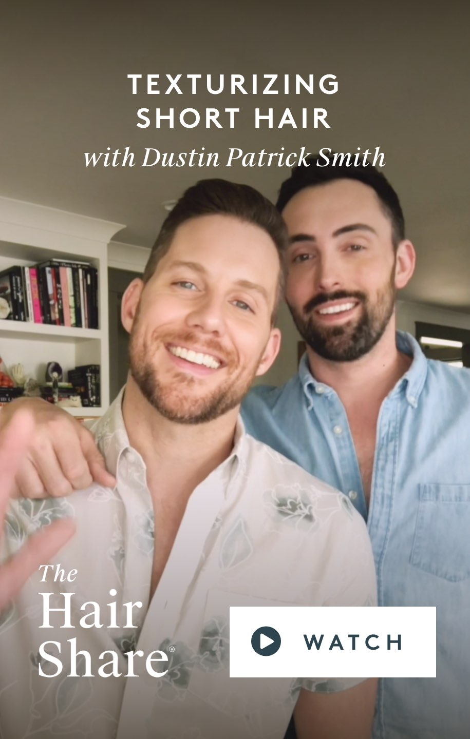 Texturizing Short Hair with Dustin Patrick Smith